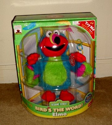 Bird's The Word Elmo (toy) Fisher Price *Brand NEW*