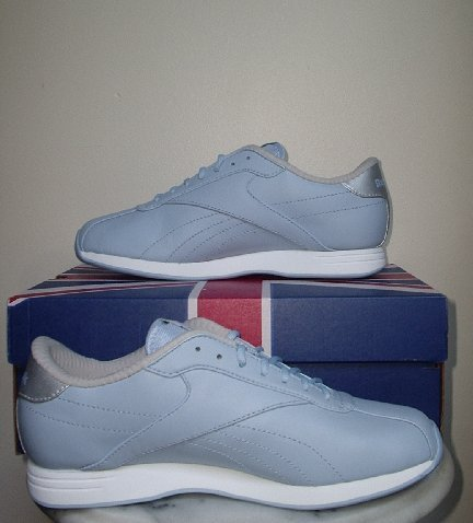 NEW REEBOK CLASSIC Crystal plus sneakers shoes walking NIB Womens 7.5 7 1/2