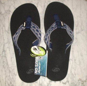 New REEF Smoothy sandals Squishy soles flip flops mens 10 New with tags