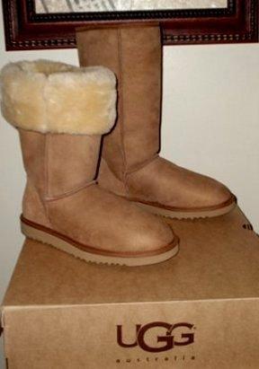 NEW UGG Australia Classic Tall Chestnut Boots 8 9 NIB