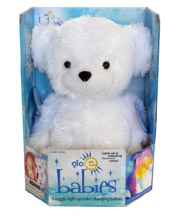"Cepia 12"" Glo-E white Bear New in Box - It Glows!  Cute Gift!"