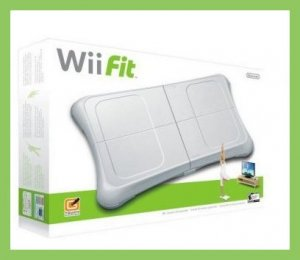NEW NINTENDO WII FIT + BALANCE BOARD GAME SYSTEM WIIFIT *FAST SHIPPING*
