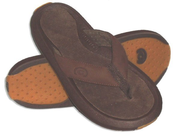 New Cobian Ranch Thong suede Strap Sandals mens 8 NWT