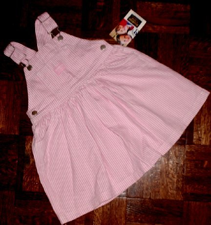 NEW OSHKOSH Dress Jumper Pink 3 toddler NWT New with tags