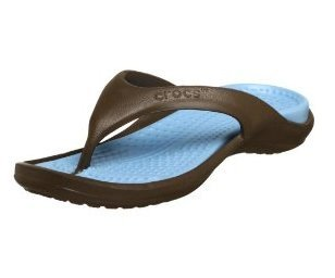 NEW CROCS croc Athens Thong Sandals NWT womens 8