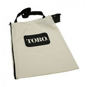 new toro electric blower vac vacuum bag