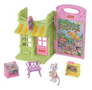 Fisher Price Hideaway Hollow Candy Shop Set New in Box