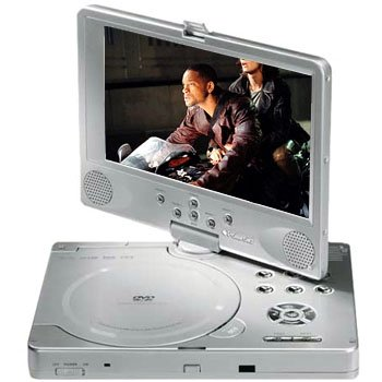 8 INCH PORTABLE DVD PLAYER With 30 GAMES