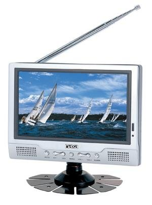 8 Tft Lcd Television With Stand & Remote Control