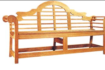 DESIGNED BACK BENCH