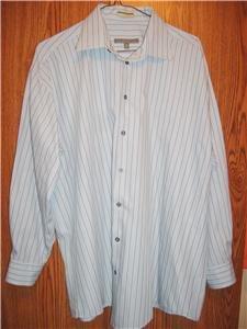 Kenneth Cole Dress Shirt Mens L 16