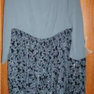 Womens Plus Size Dress Carole Little 16W 2X NWT $158