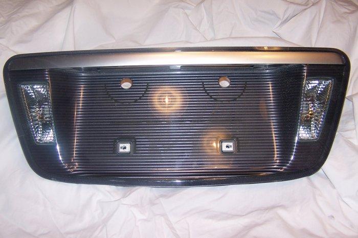 Acura TL license plate cover