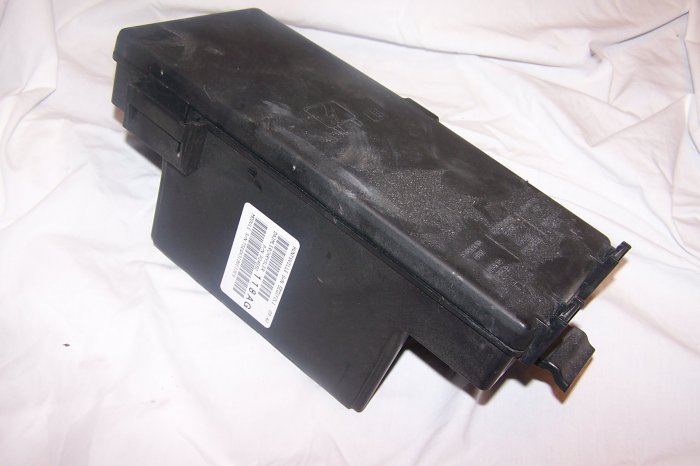Dodge RAM fuse boxs assy under hood