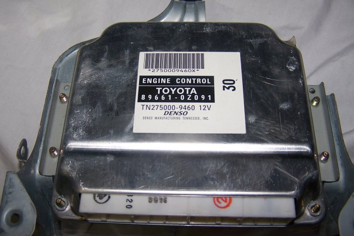 Toyota corolla engine control