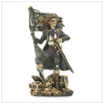 A Pirate's Treasure Figurine