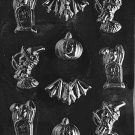 ASSORTED WITH BAT CHOCOLATE CANDY MOLD- CANDY,SOAP,PLASTER MOLD MOLDS
