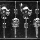 PUMPKINS AND CAT LOLLYS CANDY MOLD - PLASTER, SOAP, CHOCOLATE CANDY MOLD MOLDS