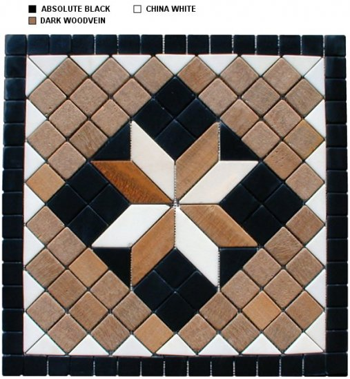 Marble Mosaic Medallion - New Design