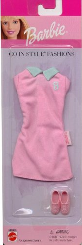 Barbie Go in Style Fashion Dress - Pink - MOC