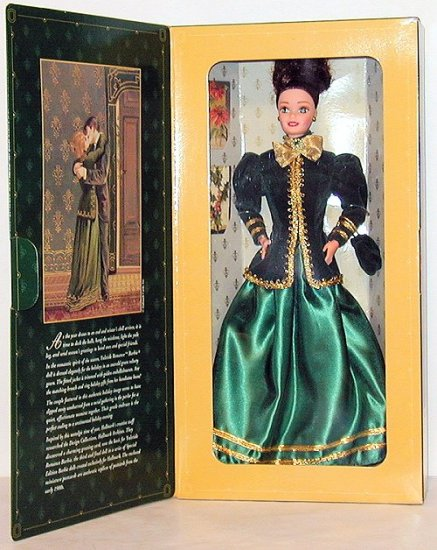 1996 Hallmark Yuletide Romance Barbie NIB