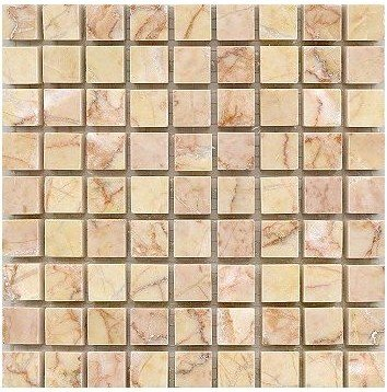 Marble Mosaic Sheets, Tile 5 - 10mm Polished Giallo Reale