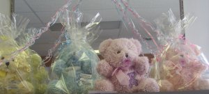 Wax Dipped Bear Pastel Baby
