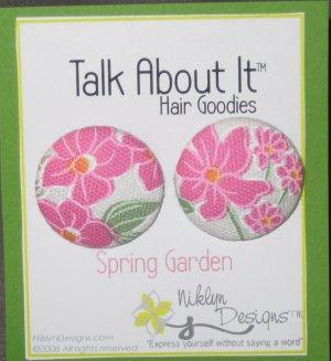 Spring Garden Hair Goodies
