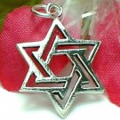 925 STERLING SILVER STAR OF DAVID CHARM / PENDANT