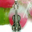 925 STERLING SILVER VIOLIN CHARM / PENDANT