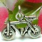925 STERLING SILVER BICYCLE CHARM / PENDANT