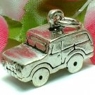 925 STERLING SILVER SPORTS UTILITY VEHICLE CHARM / PENDANT
