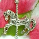925 STERLING SILVER CAROUSEL CHARM / PENDANT