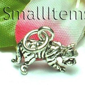 925 STERLING SILVER TIGER CHARM / PENDANT