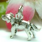 925 STERLING SILVER IRISH SETTER DOG CHARM / PENDANT