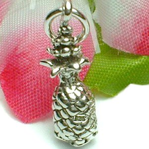 925 STERLING SILVER PINEAPPLE CHARM / PENDANT