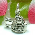 925 STERLING SILVER CHINESE DRAGON TEAPOT CHARM / PENDANT