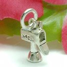 925 STERLING SILVER MAIL LETTER BOX CHARM / PENDANT