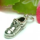 925 STERLING SILVER MEN SHOE CHARM / PENDANT