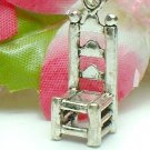 925 STERLING SILVER STEP BACK CHAIR CHARM / PENDANT