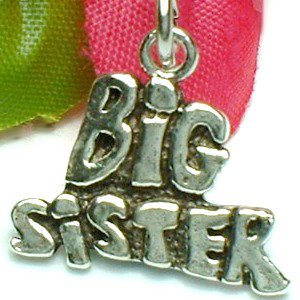 925 STERLING SILVER BIG SISTER CHARM / PENDANT