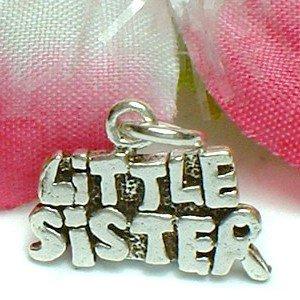 925 STERLING SILVER LITTLE SISTER CHARM / PENDANT