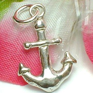 925 STERLING SILVER ANCHOR CHARM / PENDANT
