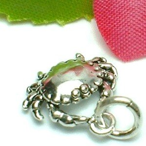 925 STERLING SILVER CRAB CHARM / PENDANT