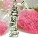 925 STERLING SILVER ENGLAND BIG BEN CHARM / PENDANT