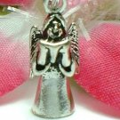 925 STERLING SILVER ANGEL SINGING WITH BOOK CHARM / PENDANT