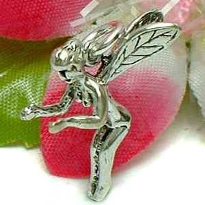 925 STERLING SILVER FAIRY ELF CHARM / PENDANT