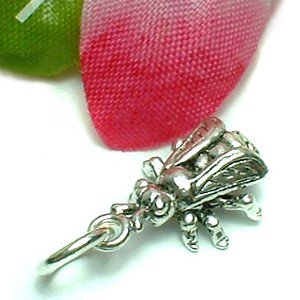 925 STERLING SILVER HOUSEFLY CHARM / PENDANT