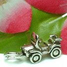 925 STERLING SILVER MINI JEEP CHARM / PENDANT