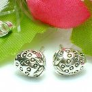 925 STERLING SILVER STRAWBERRY STUD EARRINGS
